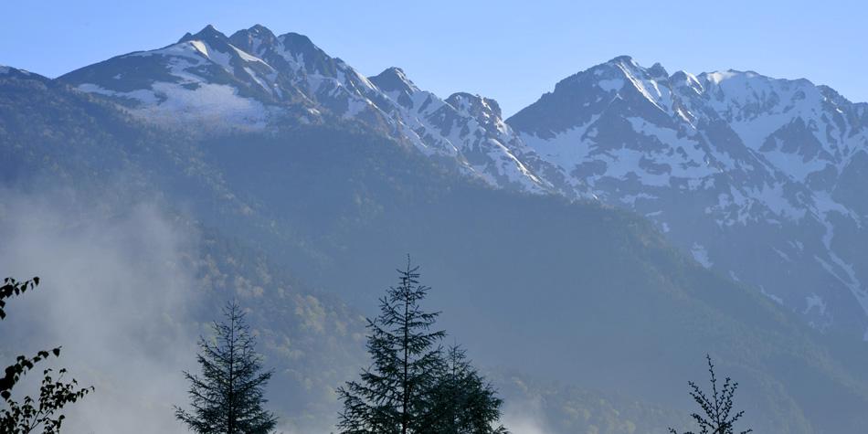 信州風景写真 ストックフォト