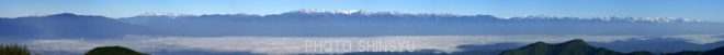白馬から御嶽まで北ア、大パノラマ(元画像54626×4868px)