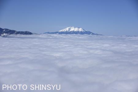 雲上の御嶽山